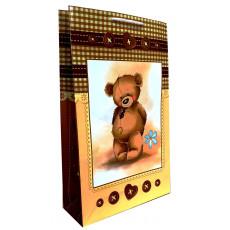 Подарочный пакет (вертикальный) детский LD-W3-17