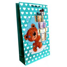 Подарочный пакет (вертикальный) детский LD-W3-48