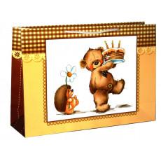 Подарочный пакет (горизонтальный) детский LD-W4-14