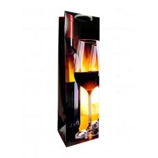 Подарочный пакет (бутылка) LD-WB-26