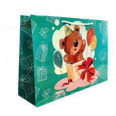 Подарочный пакет (горизонтальный) детский LD-W4-40