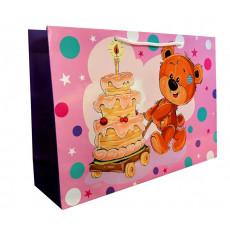 Подарочный пакет (горизонтальный) детский LD-W4-41
