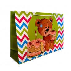Подарочный пакет (горизонтальный) детский LD-W4-44