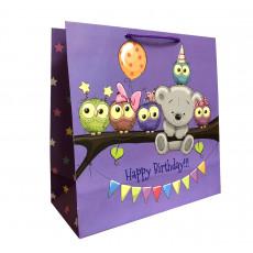 Подарочный пакет детский (квадрат) LD-W1D-101