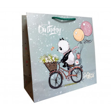 Подарочный пакет детский (квадрат) LD-W1D-102