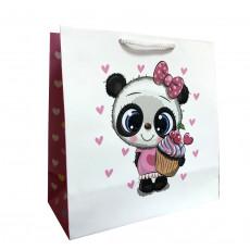 Подарочный пакет детский (квадрат) LD-W1D-103