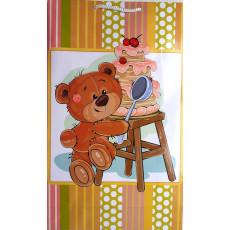 Подарочный пакет (вертикальный) детский LD-W3-73