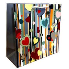 Подарочный пакет (квадрат) LD-W1-44