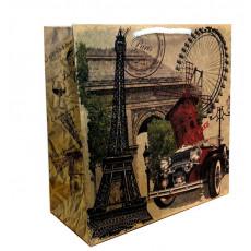 Подарочный пакет крафт (квадрат) Parise LD-W1K-11