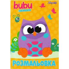 """Раскраска """"Bubu"""" B1-742594"""