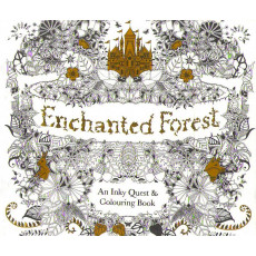 Раскраска антистрес «Enchanted Forest» MX-002