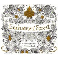 Раскраска антистрес на 96 картинок «Enchanted Forest» MX-689