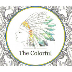 Раскраска антистрес «The Colorful» MX-009