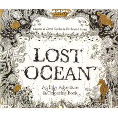 Раскраска антистрес «Lost Ocean» MX-010