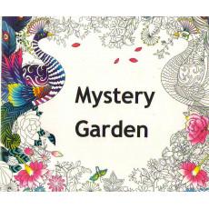Раскраска антистрес «Mystery Garden» MX-013