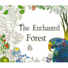 Раскраска антистрес «The Enchanted Forest» MX-015