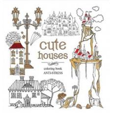 Раскраска антистресс «CUTE houses» MD-A-12-04