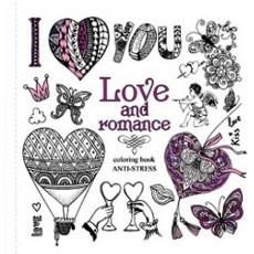 Раскраска антистресс «Love and romance» MD-A200-36-02