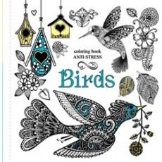 Раскраска антистресс «Birds» MD-A200-36-03