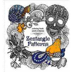 Раскраска антистресс «Zentagle Patterns» MD-A200-36-04