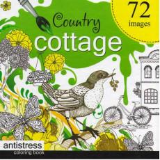 Раскраска антистресс «Country Cottage» MD-A200-36-05