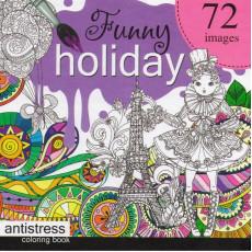 Раскраска антистресс «Funny Holiday» MD-A200-36-06
