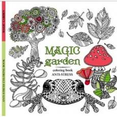 Раскраска антистресс «Magic garden» MD-A260-36-03