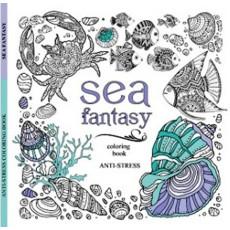 Раскраска антистресс «Sea fantasy» MD-A260-36-04