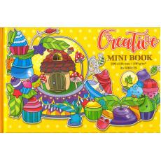 Раскраска антистресс «Qreative MINI BOOK» желтая md-36-17223
