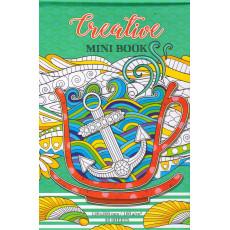 Раскраска антистресс «Qreative MINI BOOK» зеленая md-36-17226