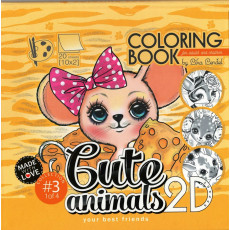 Раскраска антистресс 2D «Cute animals» MD-0513-20414