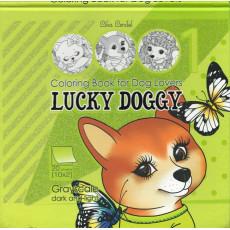Раскраска антистресс 2D «LUCKY DOGGY» MD-0513-21293