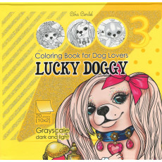 Раскраска антистресс 2D «LUCKY DOGGY» MD-0513-21295