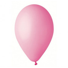 """Воздушные шары 10 шт. Розовые пастель 8"""" (21см) GE-006-8"""