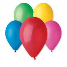 """Воздушные шары 10 шт. Ассорти пастель 10"""" (26см) GE-080-10"""