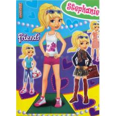 Одень куклу Friends Sl-OL-01