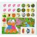 Дитячі головоломки з наліпками 3+ (жовта) TR-421-7