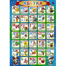 """Плакат """"Абетка"""" SP-P-123"""